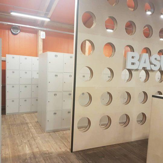 Adidas BASEMOSCOW раздевалка