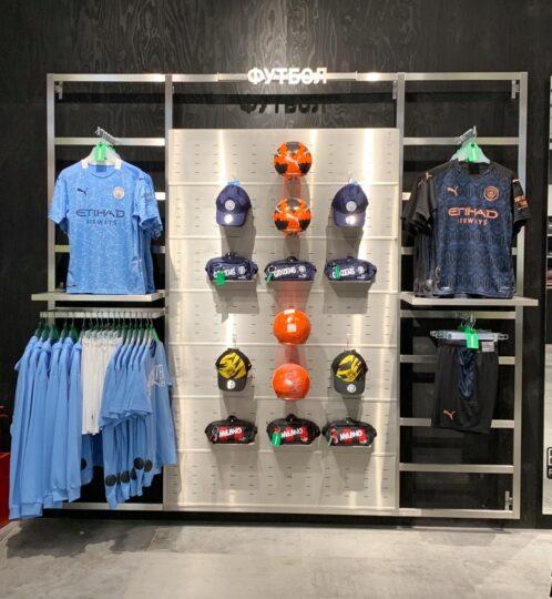 Новый магазин Puma